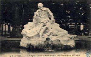 satue de Pierre Goudouli